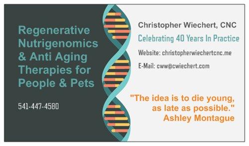 Anti Aging | Christopher Wiechert's Paleoceuticals